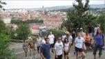 2009 Tour Team B poses in Cluj-Napoca, Romania